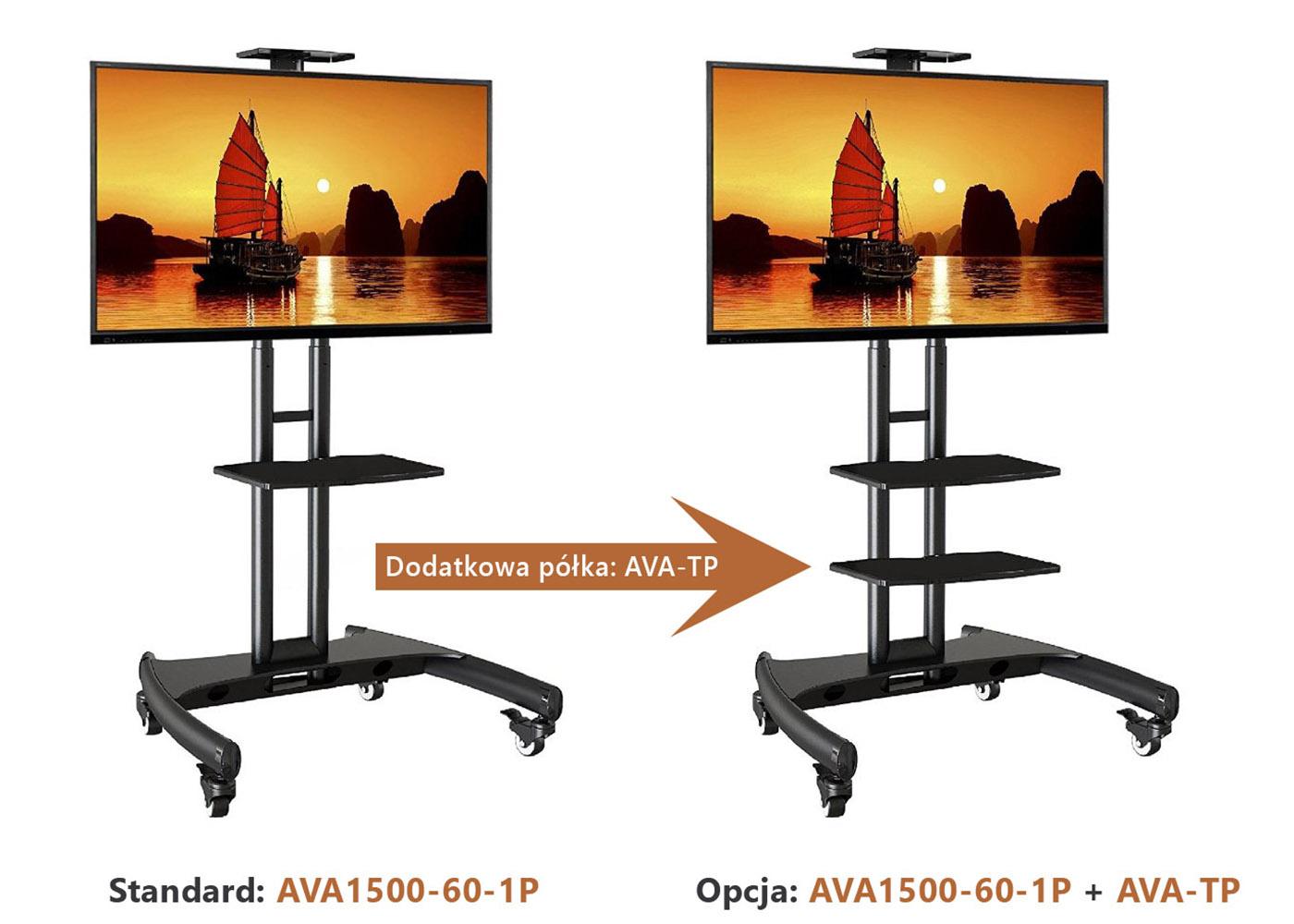 Dodatkowa półka AVA-TP do stojaków AVA1500